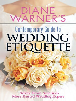 cover image of Diane Warner's Contemporary Guide to Wedding Etiquette