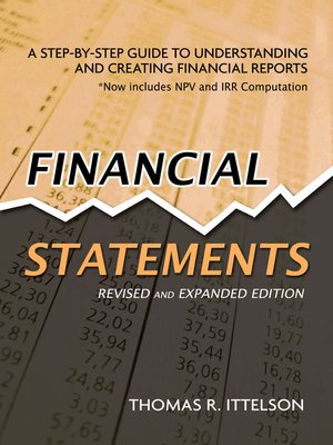 financial statements by thomas r ittelson overdrive rakuten