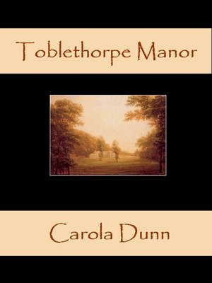 cover image of Toblethorpe Manor