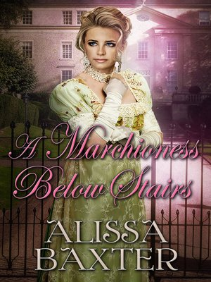 cover image of A Marchioness Below Stairs