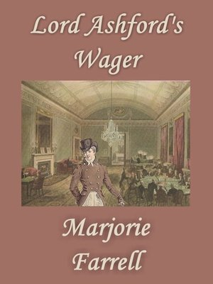cover image of Lord Ashford's Wager