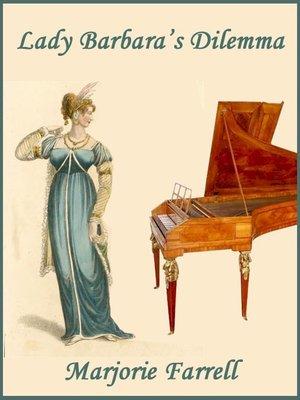 cover image of Lady Barbara's Dilemma