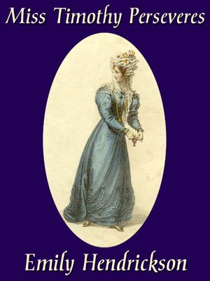 cover image of Miss Timothy Perseveres