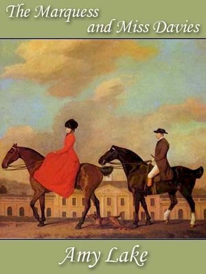 cover image of The Marquess and Miss Davies