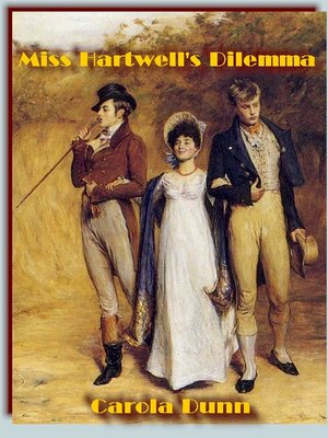 cover image of Miss Hartwell's Dilemma