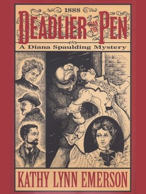 cover image of Deadlier than the Pen