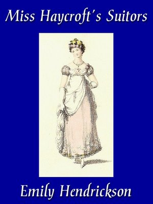 cover image of Miss Haycroft's Suitors