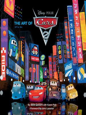 cover image of The Art of Cars 2