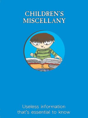 cover image of Children's Miscellany