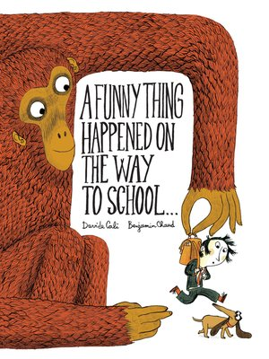 cover image of A Funny Thing Happened on the Way to School...