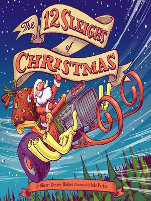 cover image of The 12 Sleighs of Christmas