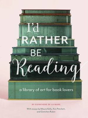 cover image of I'd Rather Be Reading