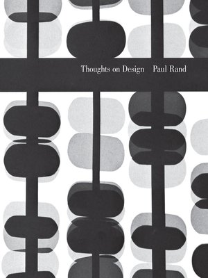 Thoughts On Design Pdf