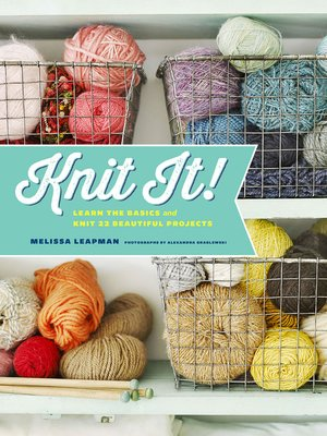 cover image of Knit It!