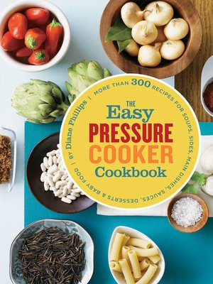cover image of The Easy Pressure Cooker Cookbook