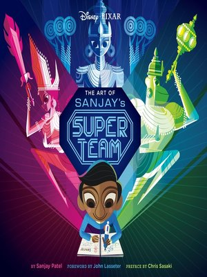 cover image of The Art of Sanjay's Super Team