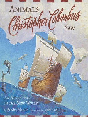 cover image of Animals Christopher Columbus Saw