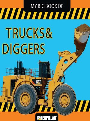cover image of My Big Book of Trucks and Diggers