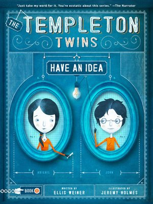 cover image of The Templeton Twins Have an Idea