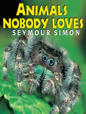 cover image of Animals Nobody Loves