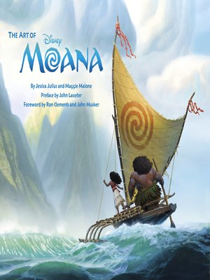 cover image of The Art of Moana