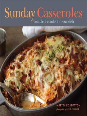 cover image of Sunday Casseroles