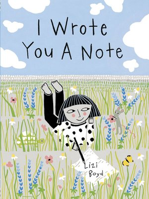 cover image of I Wrote You a Note