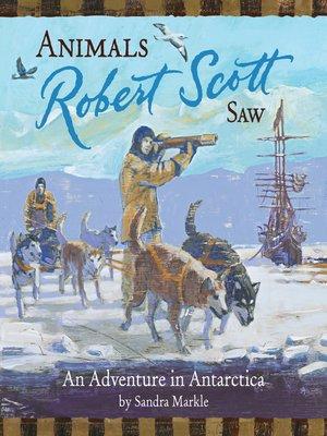 cover image of Animals Robert Scott Saw