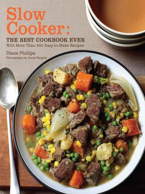 cover image of Slow Cooker: The Best Cookbook Ever