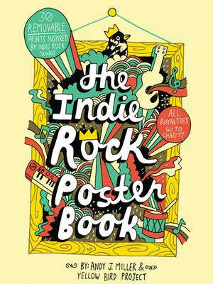 cover image of The Indie Rock Poster Book