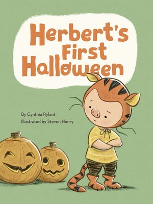 cover image of Herbert's First Halloween