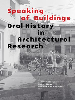 cover image of Speaking of Buildings