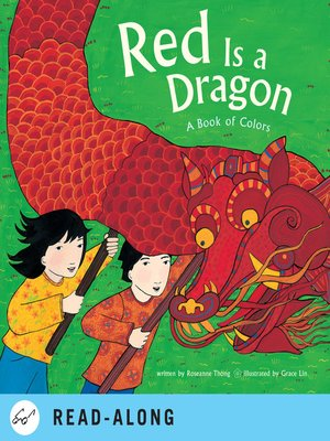 cover image of Red Is a Dragon