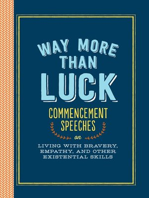 cover image of Way More than Luck