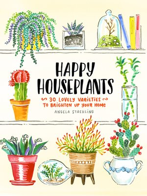 cover image of Happy Houseplants