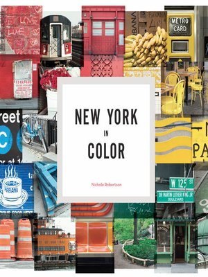 cover image of New York in Color