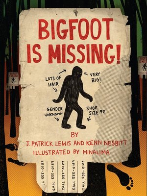 cover image of Bigfoot is Missing!