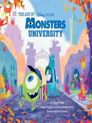 cover image of The Art of Monsters University