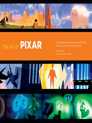 cover image of The Art of Pixar
