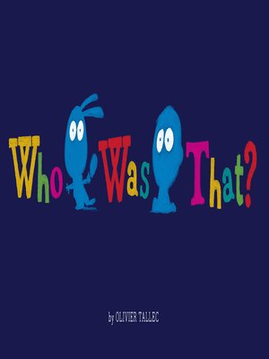 cover image of Who Was That?