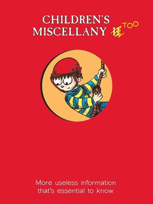 cover image of Children's Miscellany Too