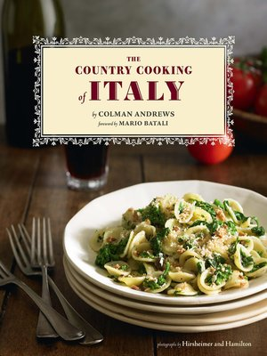 cover image of Country Cooking of Italy