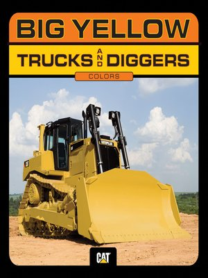cover image of Big Yellow Trucks and Diggers