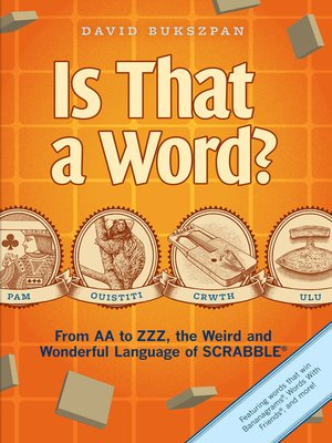 cover image of Is That a Word?