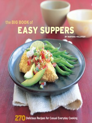 cover image of The Big Book of Easy Suppers