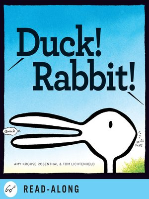 cover image of Duck! Rabbit!
