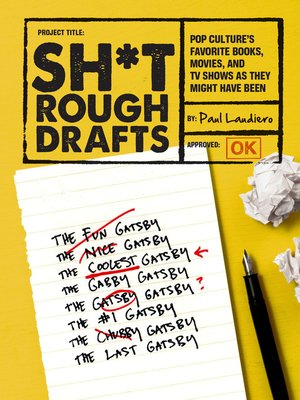 cover image of Sh*t Rough Drafts