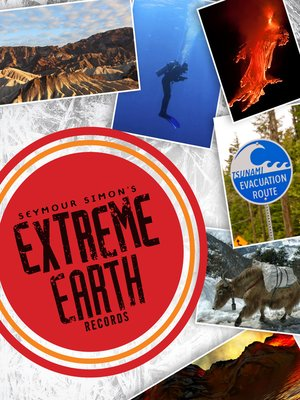 cover image of Seymour Simon's Extreme Earth Records