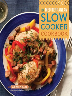 cover image of The Mediterranean Slow Cooker Cookbook