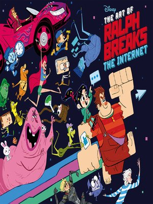 cover image of The Art of Ralph Breaks the Internet